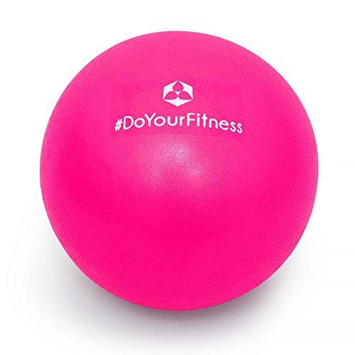 Mini Pilates Ball »Balle« 18cm / 23cm / 28cm Gymnastikball für Beckenübungen, Stärkung der Bauchmuskulatur und partielle Massage. pink / 18cm