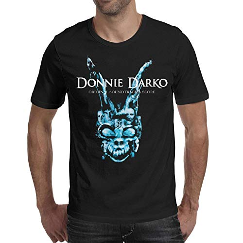 DSdarRke Men's Film Character Pattern Casual Short Sleeve t-Shirts Crew Neck Cotton Top