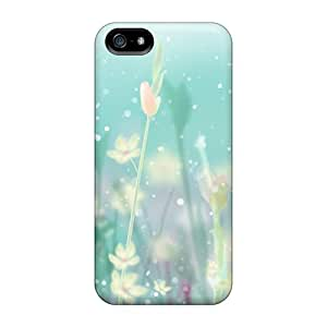 Waterdrop Snap-on Floral Embrace Case For Iphone 5/5s