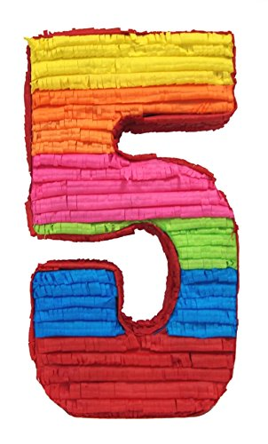 Aztec Imports Fifth Birthday Number 5 Pinata 5th Birthday Party Game