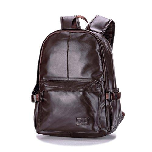 Bolsas de la escuela/PUBandoleras de cuero/[mochila]/Bolso casual del ordenador portátil/Bolsa de viaje-B B