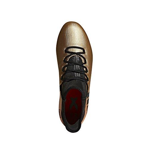 adidas Herren X 17.2 FG Fußballschuhe Gold (Tagome/Cblack/Solred)
