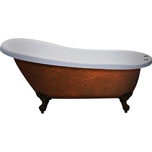 60 inch Solid Wood & Porcelain Double Vessel Sink Vanity Set