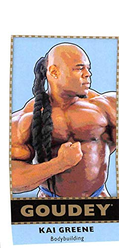 Greene Upper Deck - 2018 Upper Deck Goodwin Champions Goudey Minis #G34 Kai Greene Mini Trading Card (about half size of regular card)