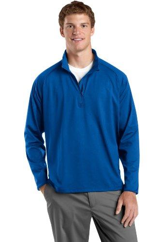 Sport-Tek Men's Sport Wick Stretch 1/2 Zip Pullover