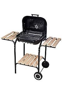 Amazon.com: ZONGOOL barbacoas de carbón vegetal al aire ...