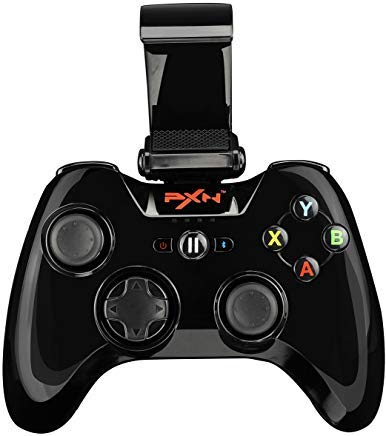 IOS Certified - PXN PXN-6603 Speedy Wireless Gamepad Game Controller Color Black (Best Modern Combat Flight Simulator)