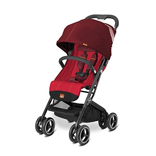 gb 2017 Buggy QBIT+ from birth up to 17 kg (approx. 4 years) Dragonfire Red - GoodBaby QBIT PLUS by gb