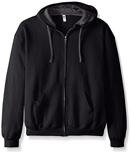 fruit-of-the-loom-mens-full-zip-hooded-sweatshirt-extra-sizes-black-xxx-large