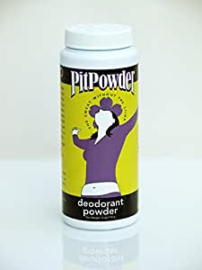 Pit Powder Deodorant By Muddy H2O - The Sweat Without the Stink - For Women 4 oz