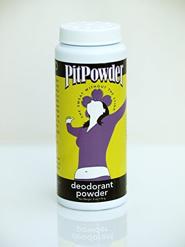 Pit Powder Deodorant By Muddy H2O - The Sweat Without the Stink - For Women 4 oz by Muddy H2O (Image #1)