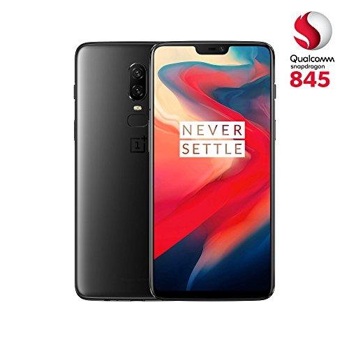 OnePlus 6 A6003 Dual-SIM (256GB Storage   8GB RAM) (GSM Only, No CDMA) Factory Unlocked 4G Smartphone (Midnight Black) - International Version