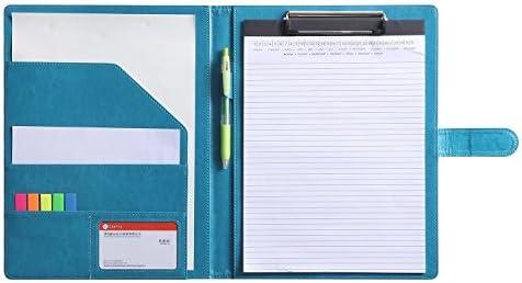 Clipboard Portfolio Organizer Interview Turquoise