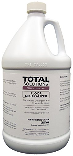 Floor Neutralizer, Neutralizes detergent and stripper residues - 4 Gallons