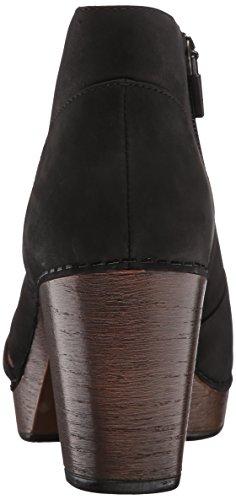 Dansko Women's Delphina Ankle Bootie, Black Milled Nubuck, 38 EU/7.5-8 M US by Dansko (Image #2)