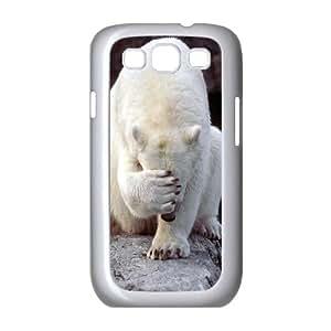 HXYHTY Phone Case Polar Bear Hard Back Case Cover For Samsung Galaxy S3 I9300