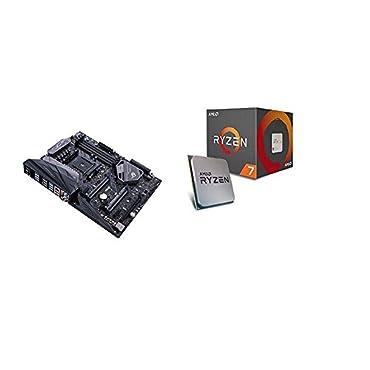 ROG Crosshair VI Hero and AMD Ryzen 7 1700 Processor with Wraith Spire LED Cooler (YD1700BBAEBOX)