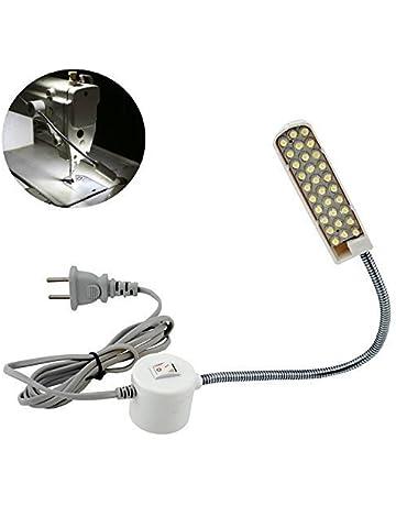 Bonlux 30 LED Bombilla Luz Fría Para Máquina de Coser de Trabajo de cuello de cisne