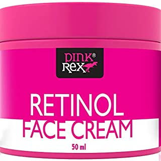 Retinol Face Cream with Hyaluronic Acid, Vitamin E, and Green Tea. A Facial Moisturizer Beauty Products Night Anti Aging Firming Lift Lotion on Creams