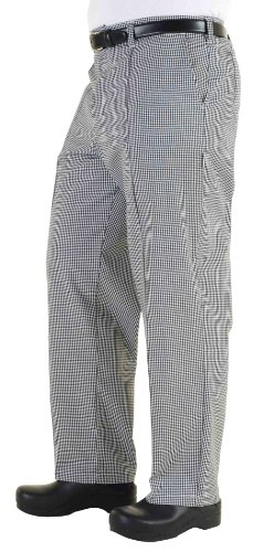 Chef Works Men's Traditional Chef Pant - Chef Checked Pants