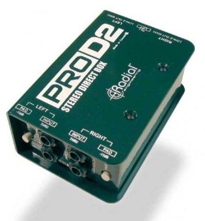 【 並行輸入品 】 Radial ProD2 Passive 2 Channel Direct Box   B00JEFETB8