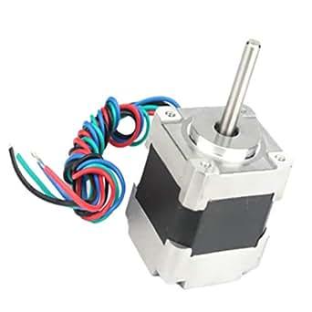 Amazon.com: Kesoto - Motor paso a paso de dos fases de 1.378 ...