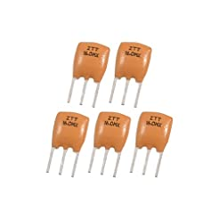 uxcell 5 Pcs Radial Lead 16.000 MHz Cera...