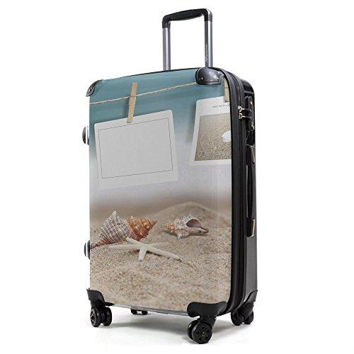 HAUPTSTADTKOFFER® 40 Liter (ca. 55 x 35 x 24 cm) · Handgepäck · Modell: STYLE · TSA Schloss · STRAND / BEACH