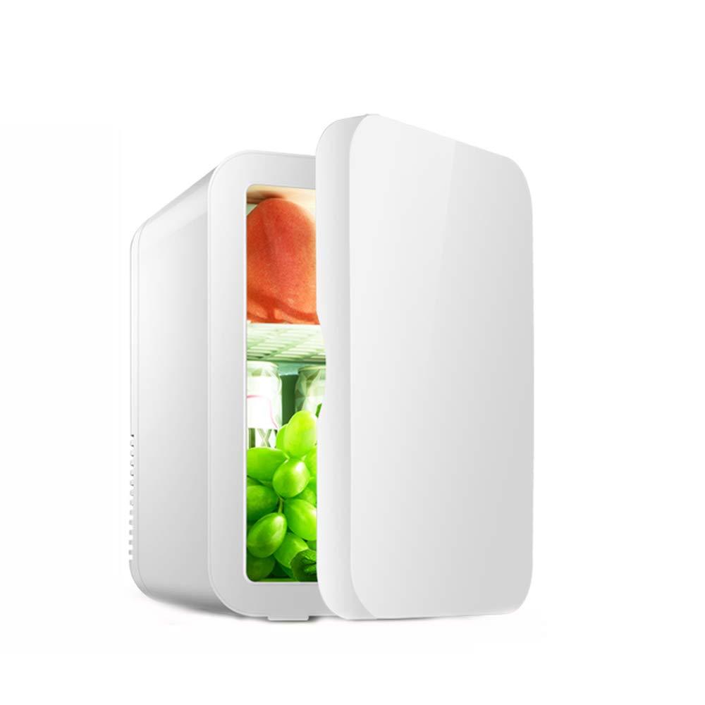 ミニ小型冷蔵庫、環境保護A ++家庭用低エネルギー小型冷蔵庫8L冷蔵車デュアルユース,White,8L 8L White B07Q377MZ3