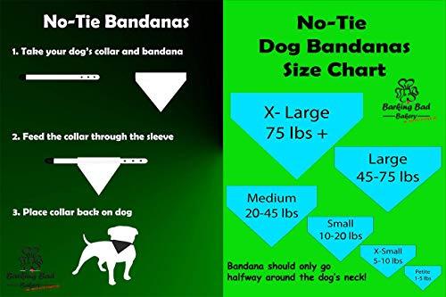 Houston Astros Retro Throwback Pattern Dog Bandana No-Tie