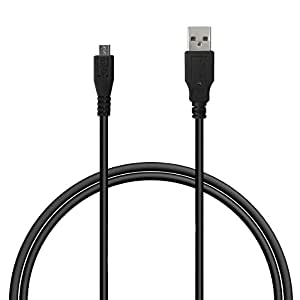KuGi BLU Life One 4G LTE 2015 Sync & Charging cable, 3 feet / 1m High Speed Micro USB male to Standard Type A USB Male Sync & Charging Date Cable for BLU Life One 4G LTE 2015 smartphone. (Black)