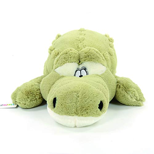 Filled Alligator Pillow - Crocodile Plush Stuffed Alligator Doll Animal Toy Soft Pillow Green 63''