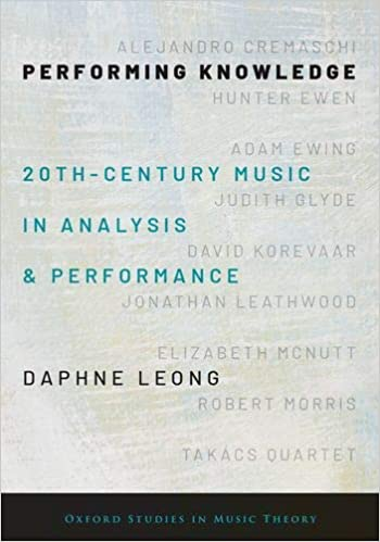 Performing Knowledge: Twentieth-Century Music in Analysis and Performance (Oxford Studies in Music Theory) - Original PDF