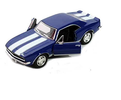 - 1967 Chevy Camaro Z/28, Blue - Kinsmart 5341D - 1/37 scale Diecast Model Toy Car (Brand New, but NO BOX)