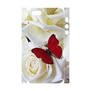 Butterfly DIY 3D Hard Case For HTC One M7 Cover LMc-89795 at LaiMc