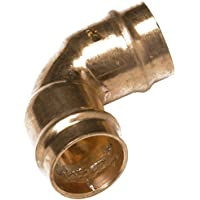 Bulk Hardware BH02894 Solder Ring Fitting Elbow, 15mm - by