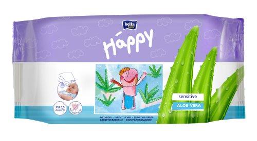 Bella Baby Happy Feuchttücher Sensitive 56 Stück, 6er Pack (6 x 56 Stück)
