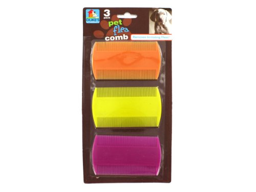 Pet flea combs - Case of 24 by DUKES