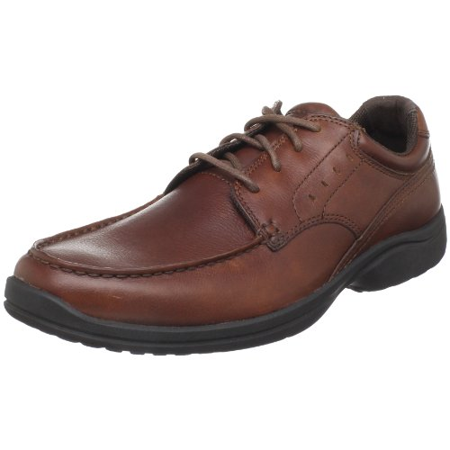 Rockport Heren Kourt Oxford- Dark Tan