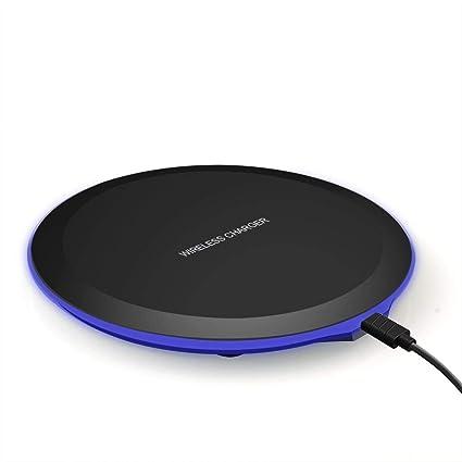Amazon.com: KHKJ - Cargador inalámbrico rápido para Samsung ...