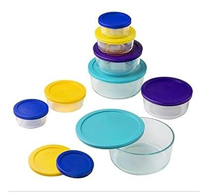 Pyrex 1072164 Storage 18-Piece Round Set