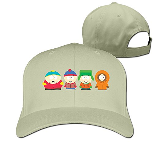 MFSH South Park Characters Logo Unisex Up Adjustable Baseball Cap,One Size Fits Most Baseball Hat.