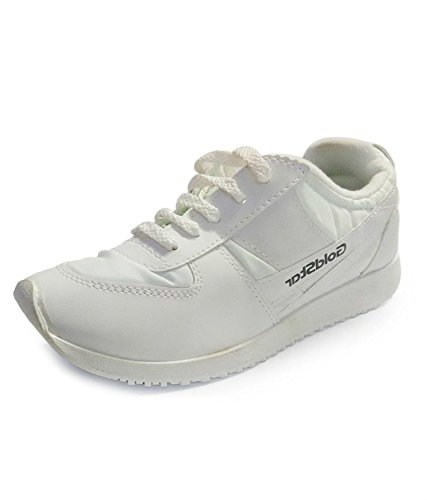 01fe8058dfd Goldstar Men s White Running Shoes Size 10  Buy Online at Low Prices in  India - Amazon.in