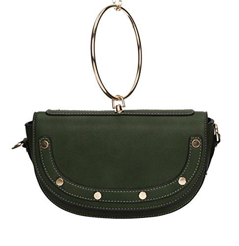 SwankySwans - Lorie Handbag, Borse a tracolla Donna Verde (Olive)