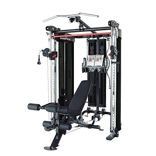 (Inspire Fitness Ft2 Functional Trainer and Smith Station (Inspire FT2 (with Bench)) )