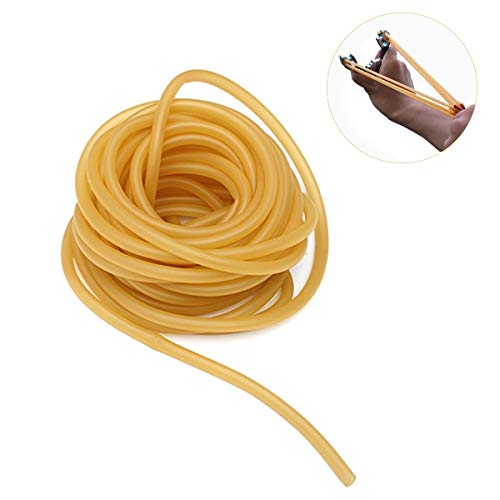 - Yosoo Latex Rubber Tubing, Speargun Band Slingshot Catapult Surgical Tube Natural Rubber Hose(3M)