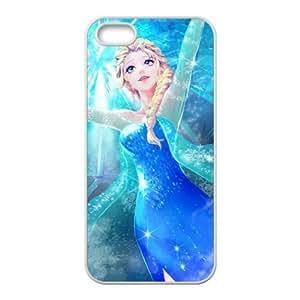 diy zhengHappy Frozen Princess Elsa Cell Phone Case for iPhone 6 Plus Case 5.5 Inch /