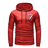 Men's Hoodies Pullover Long Sleeve Active Gym Casual Workout Sweatshirts