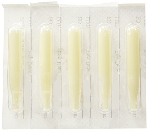 Tattoo Supply 100 Plastic Disposable Tips (Nozzles) Round/flat