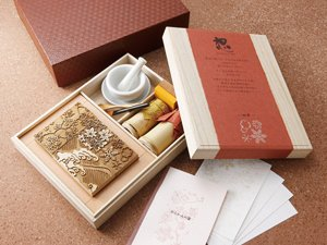 Karakami-KIT BOTAN-KARAKUSA ~Peony and arabesque pattern series~ by ROWEN JAPAN